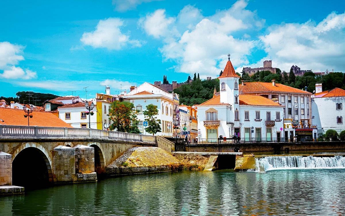 Tomar city Portugal