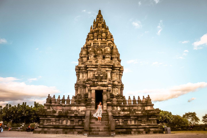 Prambanan Temple sunset Yogyakarta