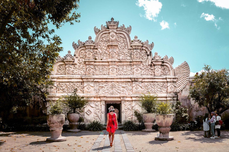 Taman Sari Water Castle entrance Yogyakarta