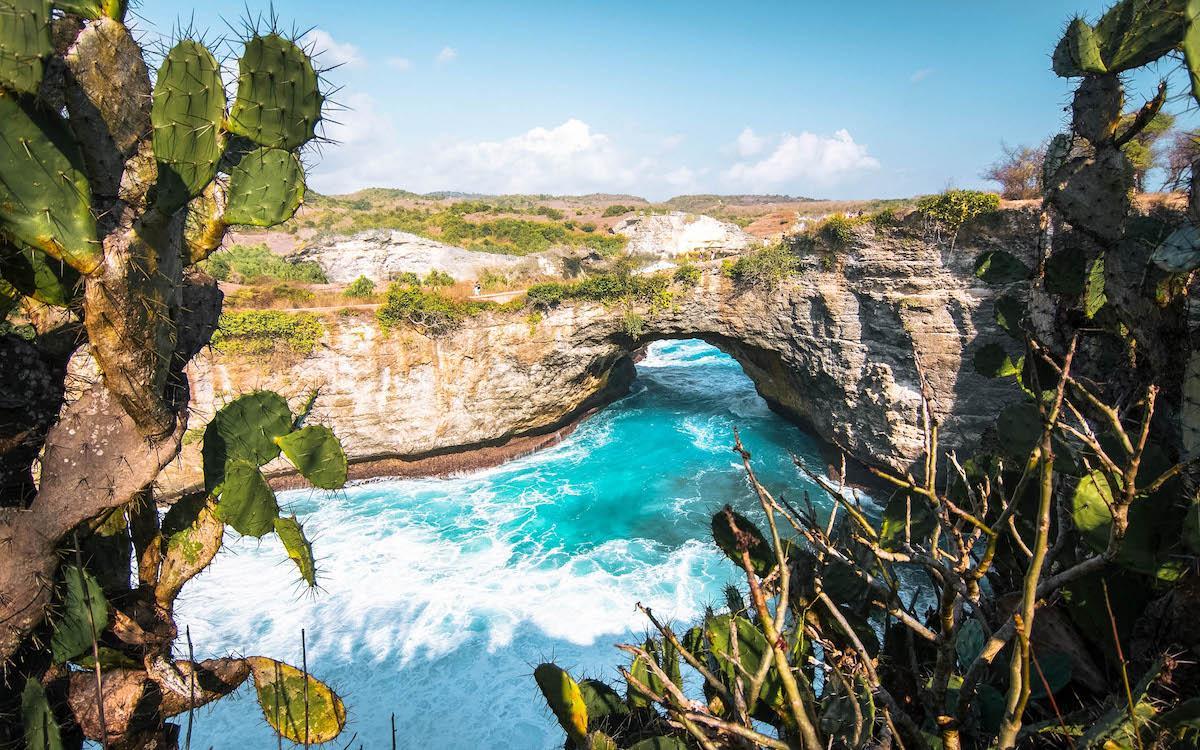 Broken Beach Nusa Penida view