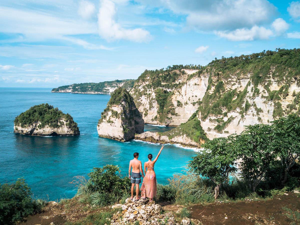 Diamond Beach Nusa Penida viewpoint
