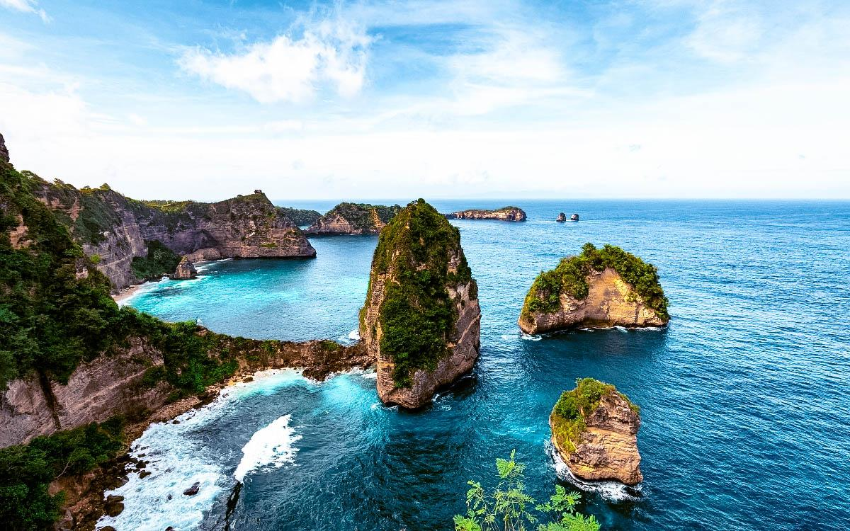 Thousand Island Viewpoint, Pulau Seribu, Nusa Penida, Bali