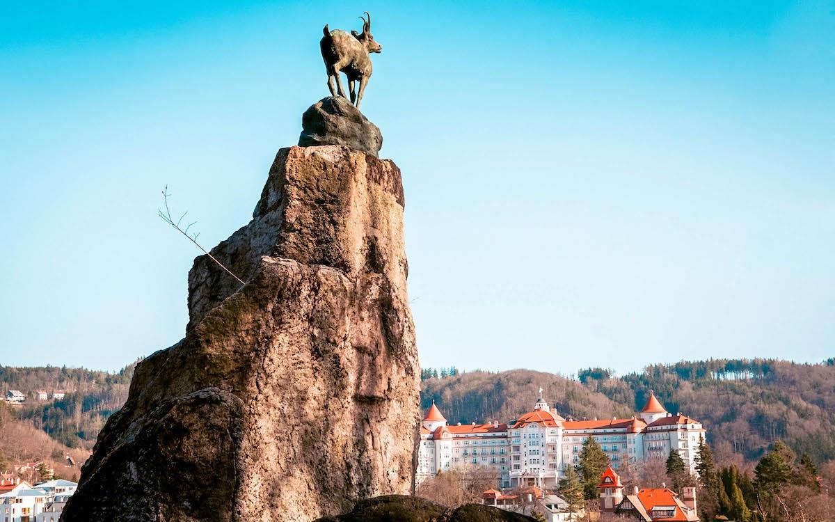 Deer Jump viewpoint Karlovy Vary
