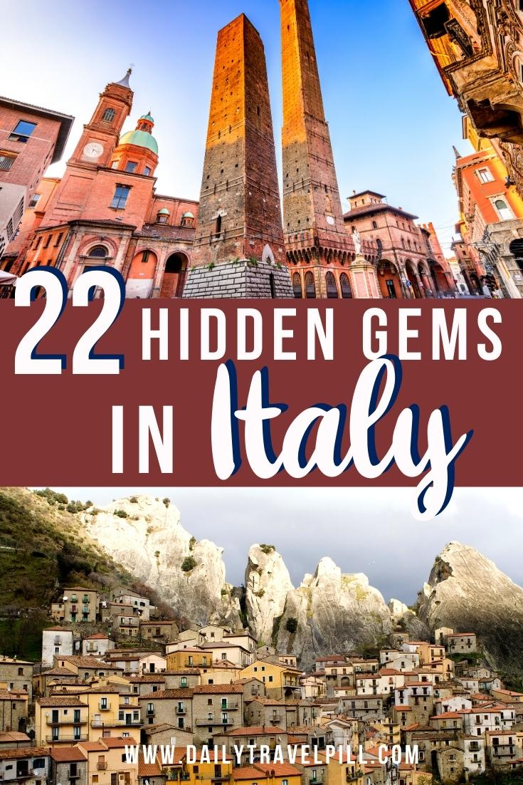 hidden gems in italy, secret places in itali, italy off the beaten track, italy off the beaten path, less touristy destinations in italy, unknown places in italy