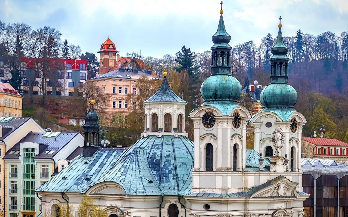 Mary Magdalene church Karlovy Vary