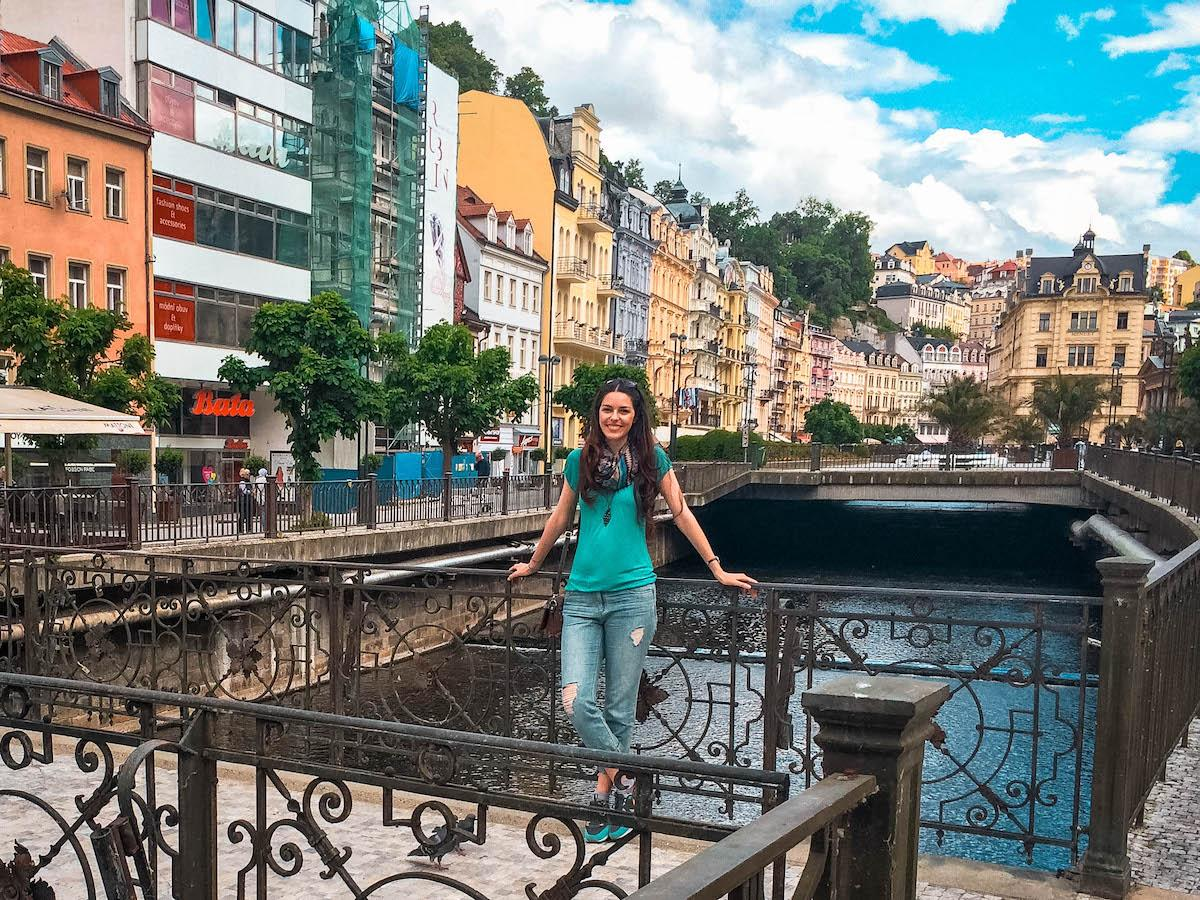 Aurelia Teslaru in Karlovy Vary