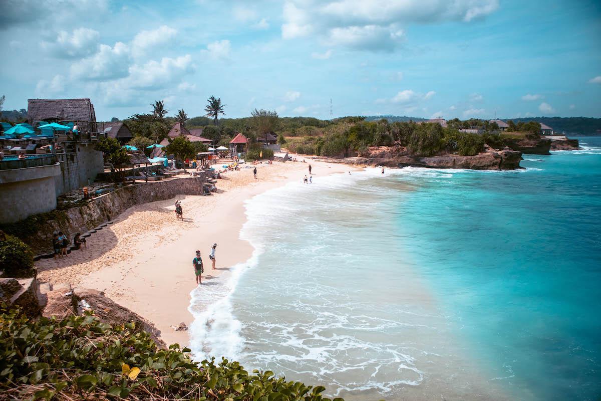 dream beach nusa lembongan, dream beach bali, best beach nusa lembongan, dream beach nusa island