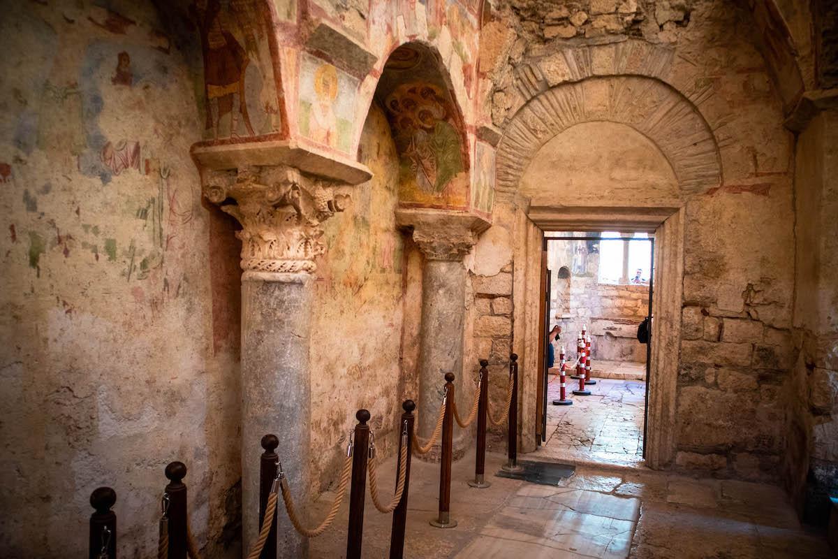 Saint Nicholas Church in Demre Antalya