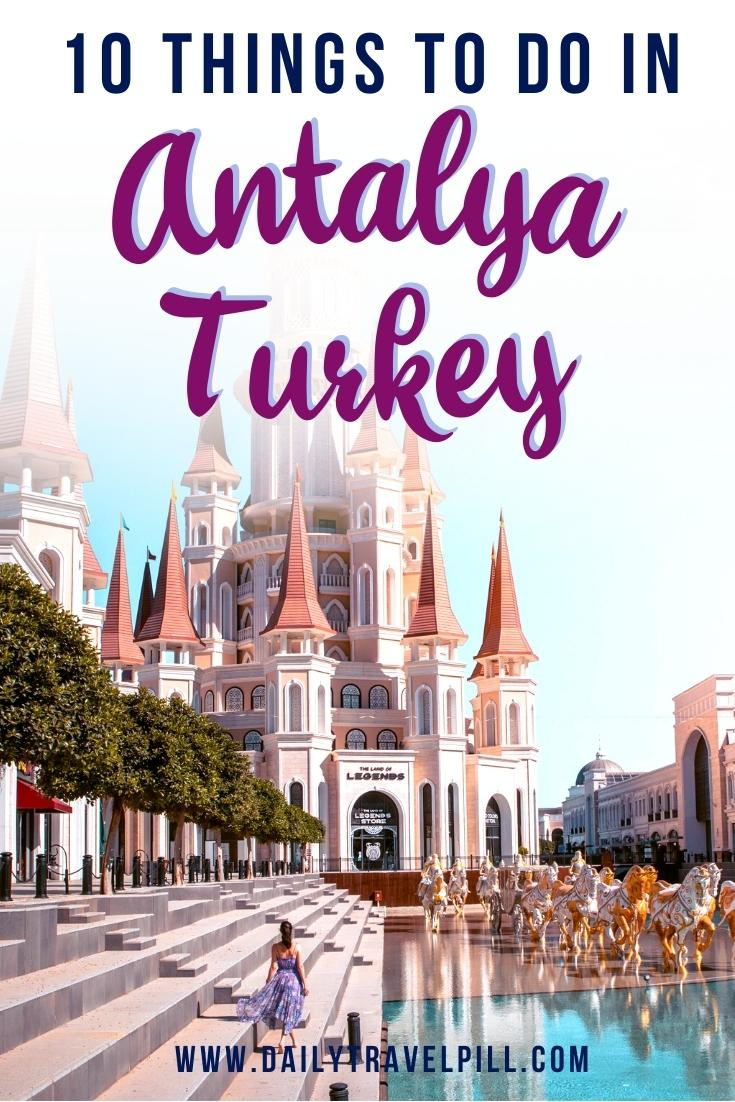 things to do in Antalya, places to see in Antalya, Antalya tourist destinations