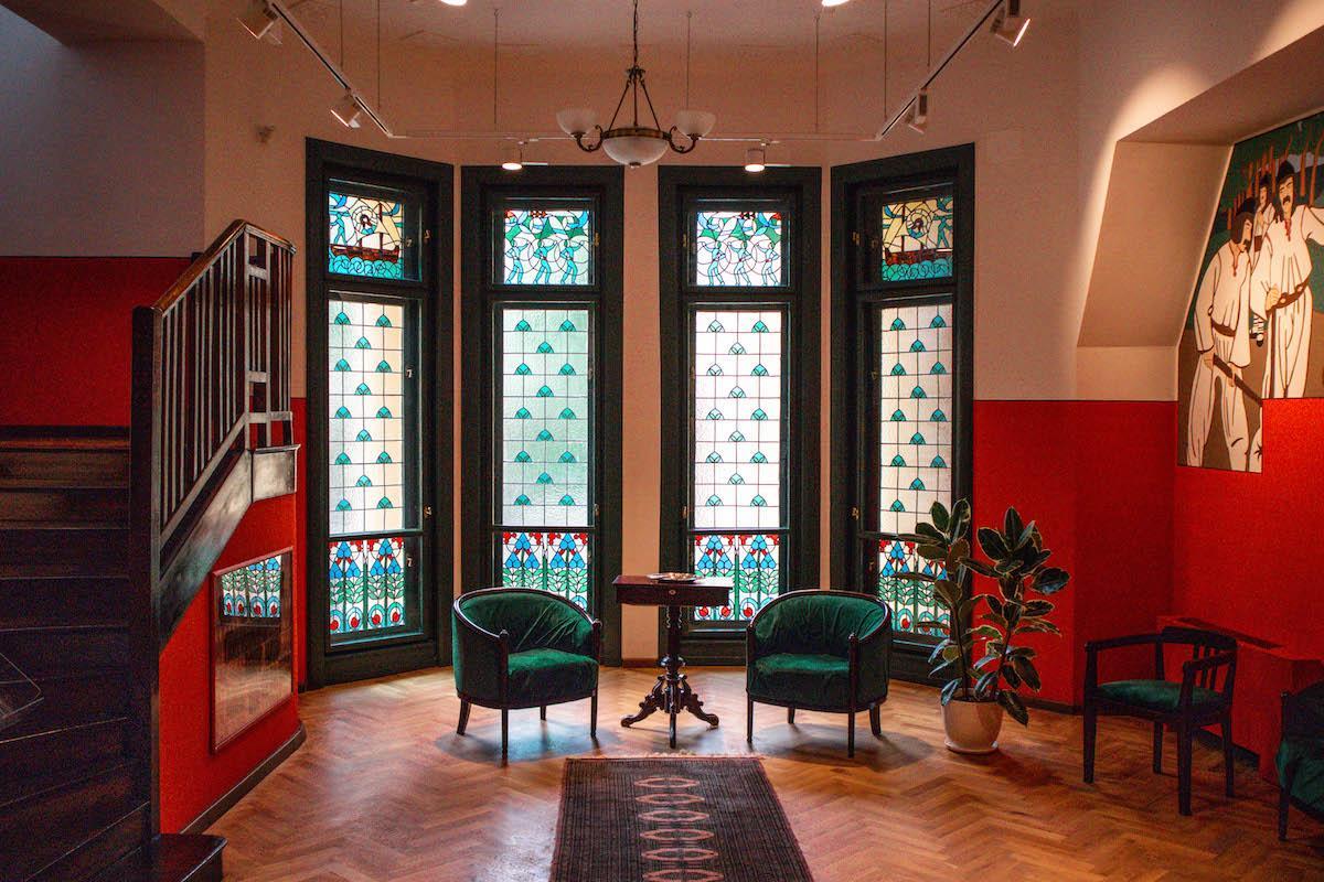 Darvas La Roche House Interior, Casa Darvas La Roche Oradea Art Nouveau
