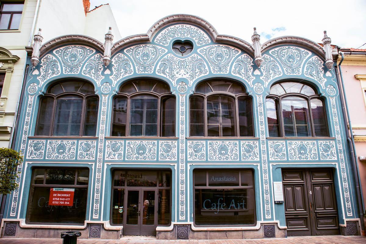 Deutsch House Oradea facade, Casa Deutsch Oradea