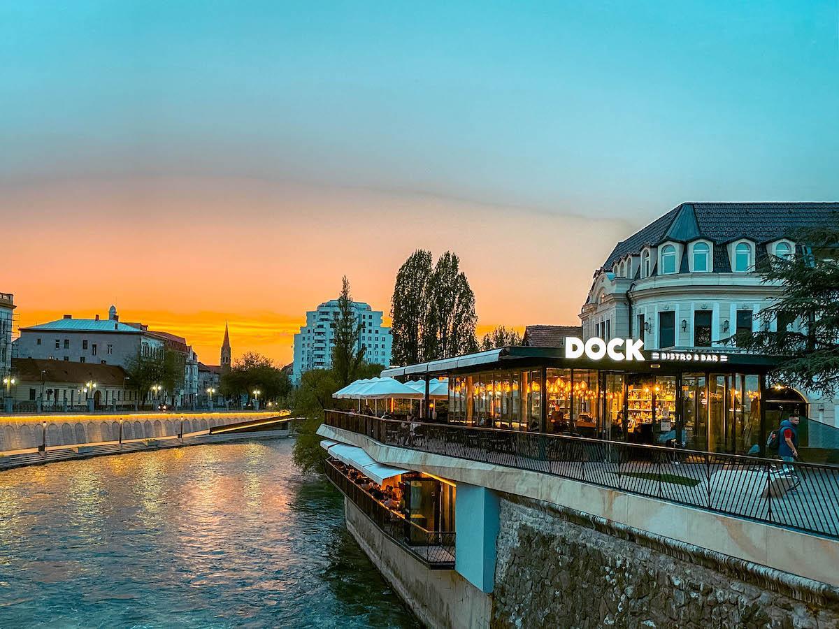 Dock Restaurant Oradea on Crisu Repede