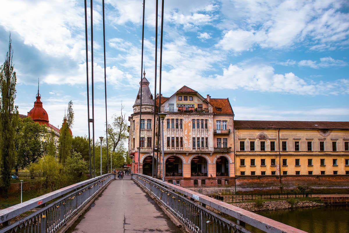 Intellectuals Bridge Oradea, Podul Intelectualilor Oradea