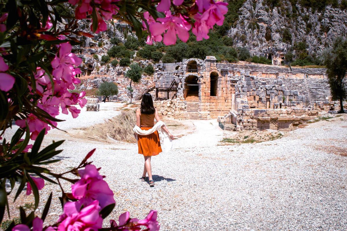 Myra ancient city ruins Demre