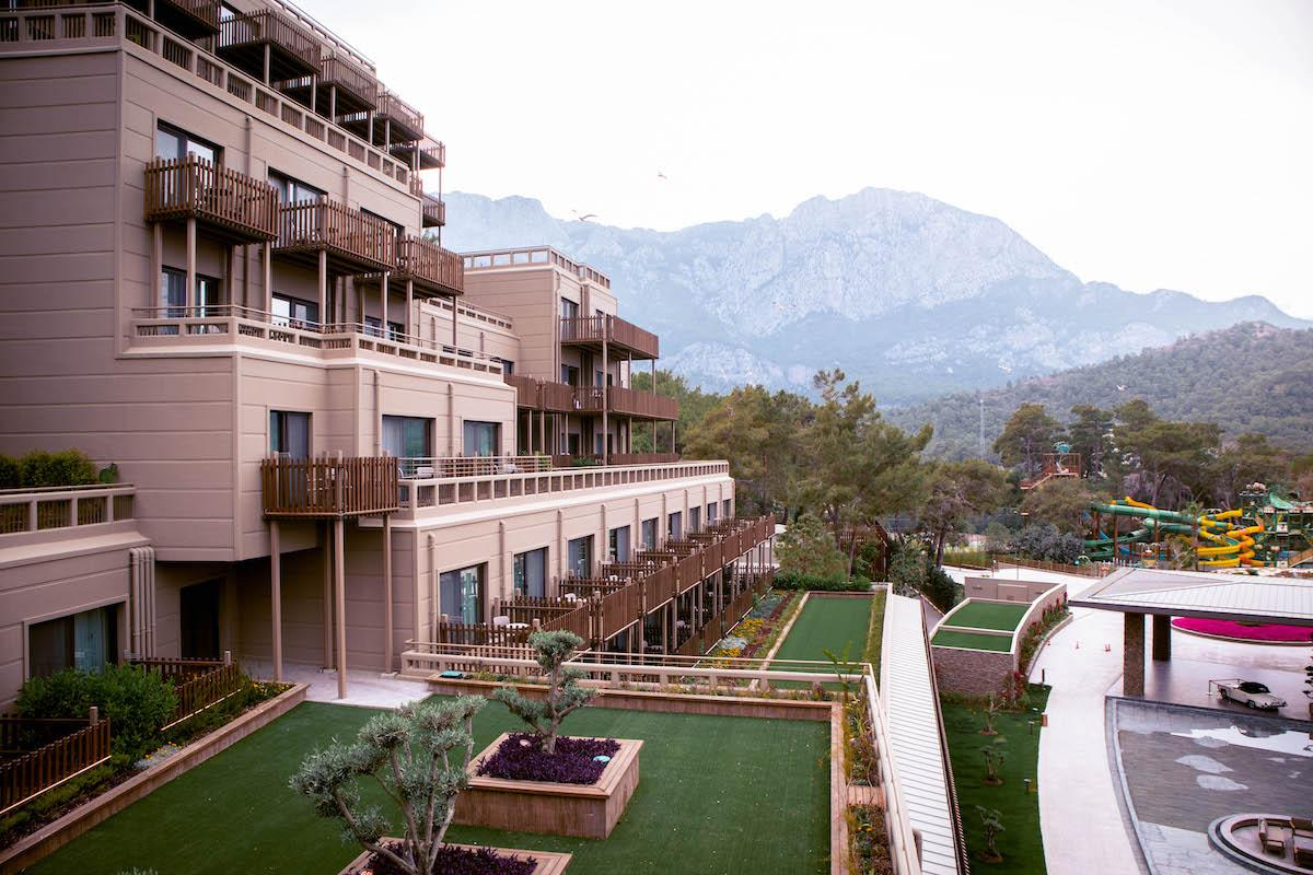 Ng Phaselis Bay Hotel Antalya building