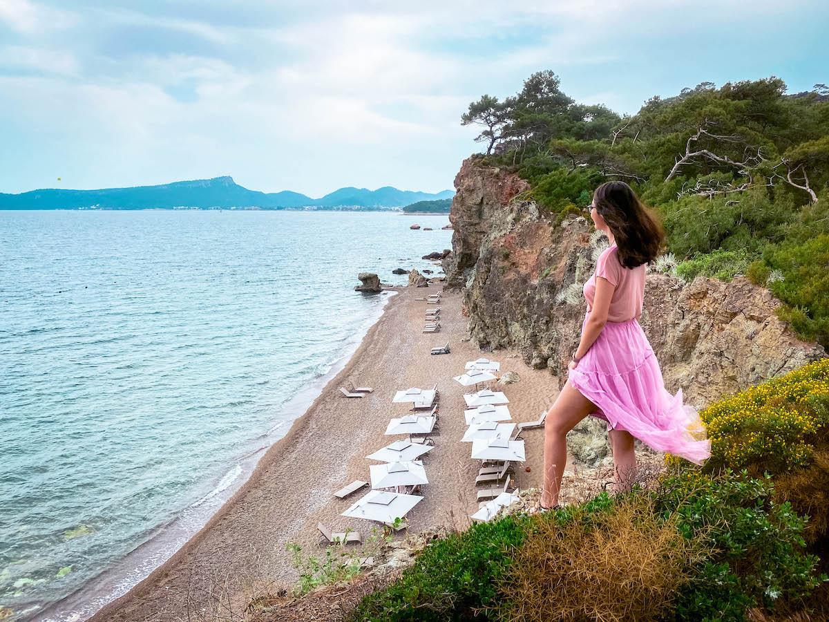 Ng Phaselis Bay Hotel Antalya cliff beach