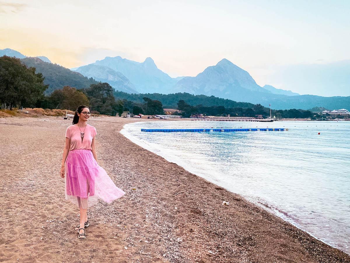 Ng Phaselis Bay Hotel Antalya main beach