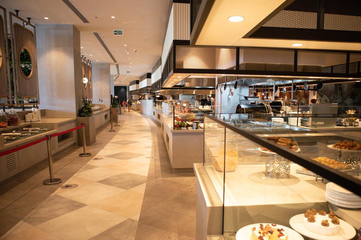 Ng Phaselis Bay Hotel Antalya main restaurant buffet