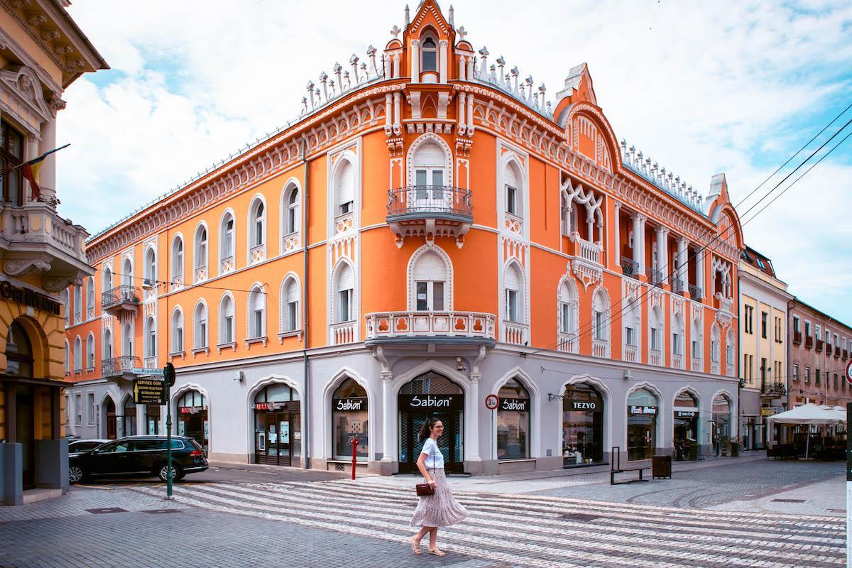 Rimancozy Palace Oradea, palatul Rimancozy Oradea