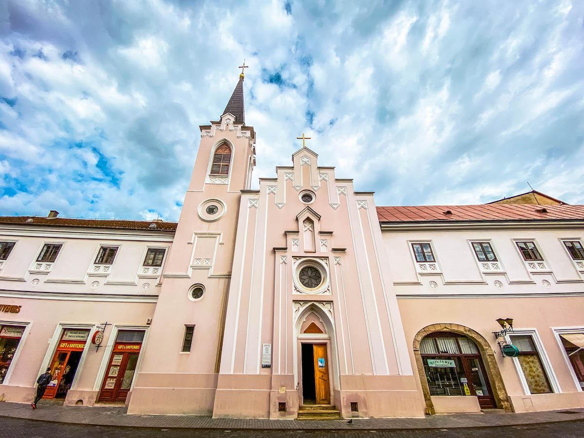 Saint Ursulines Church Oradea, Biserica Ursulinelor Oradea