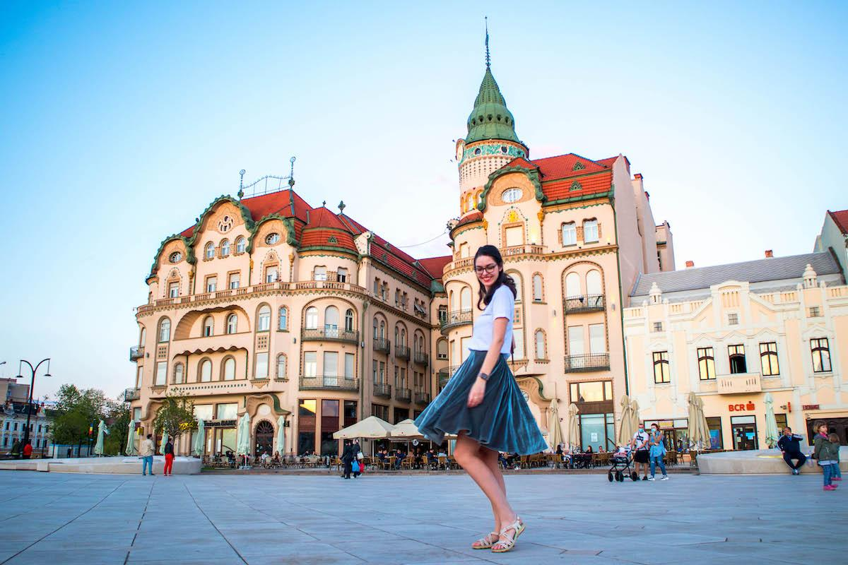 Piata Unirii Oradea, Union Square Oradea