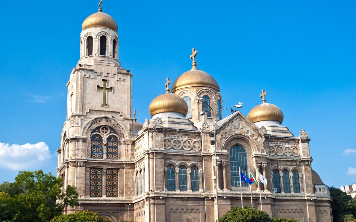Dormition fo the Mother of God Cathedral Varna