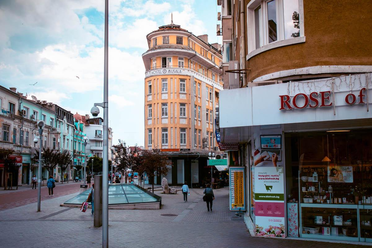 Knyaz Boris Shopping Street Varna