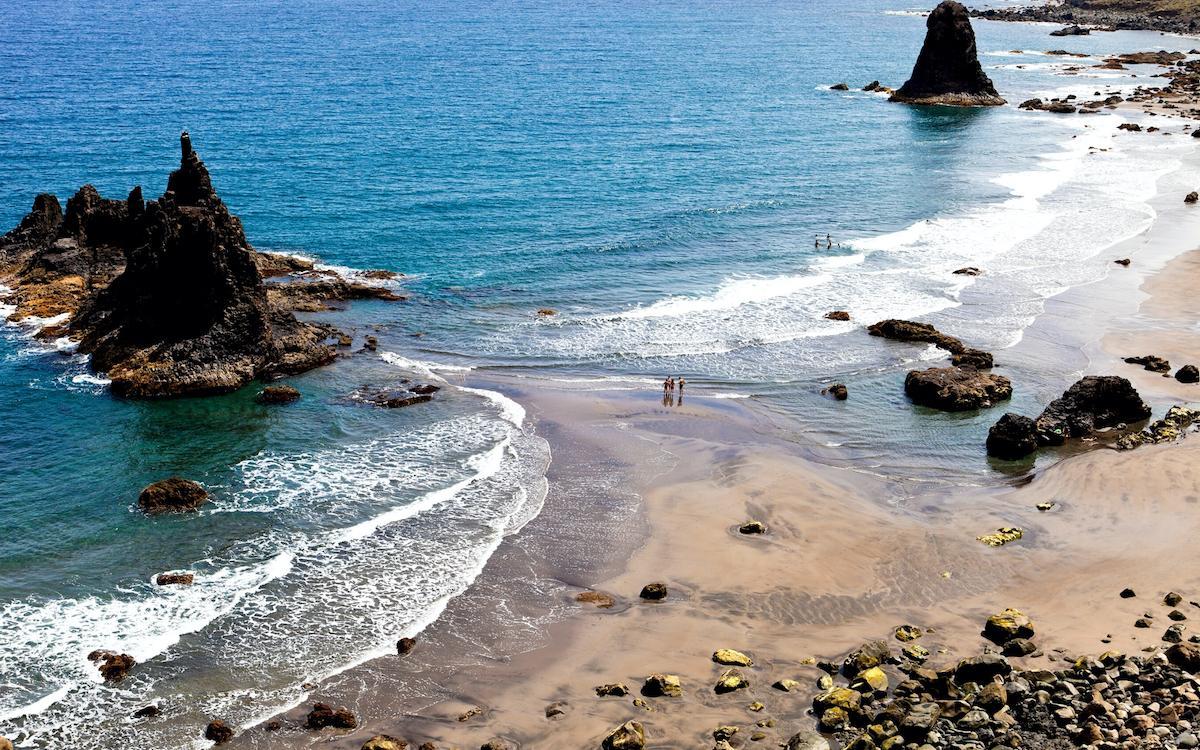 Benijo Beach rocks, Playa de Benijo Tenerife