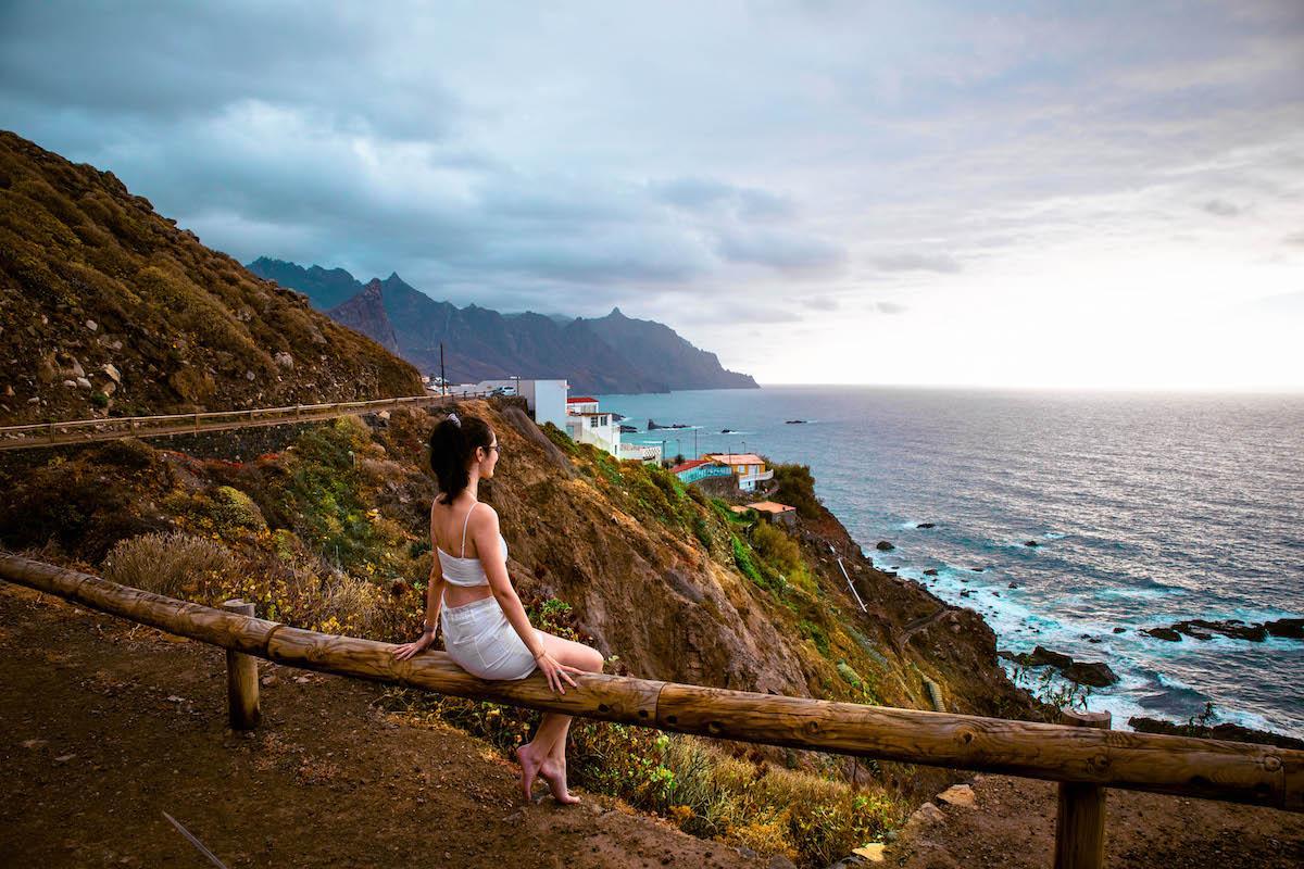 Benijo Beach Viewpoint Tenerife