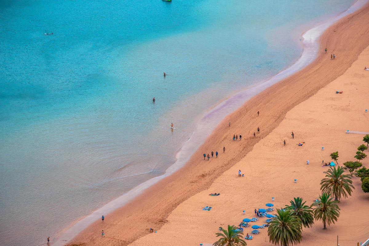 Playa de las Teresitas mirador