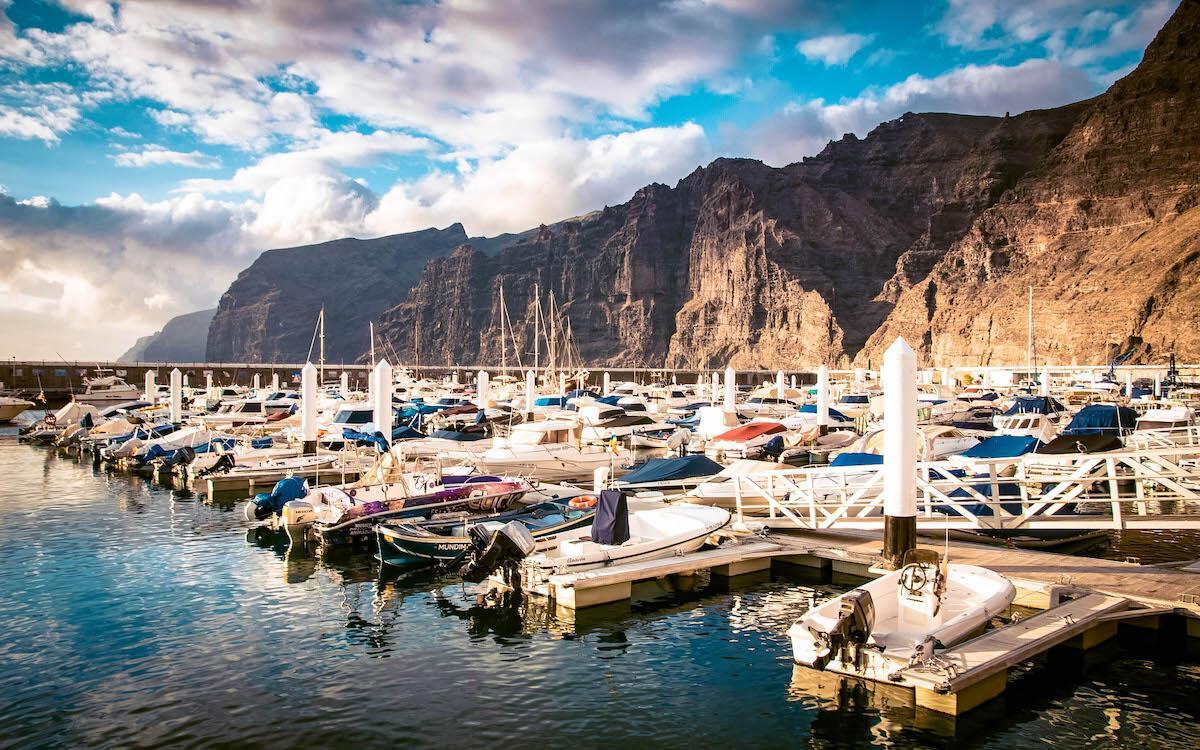 Los Gigantes marina Tenerife