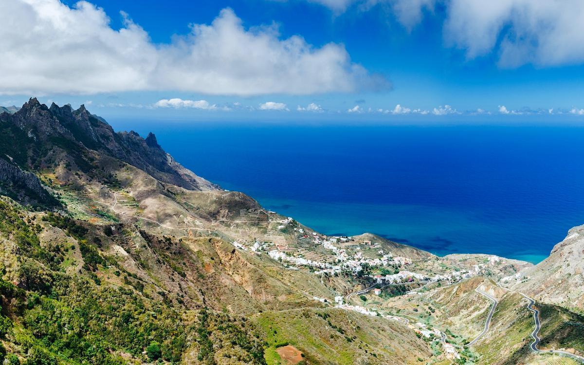 Mirador Bailadero Taganana Tenerife