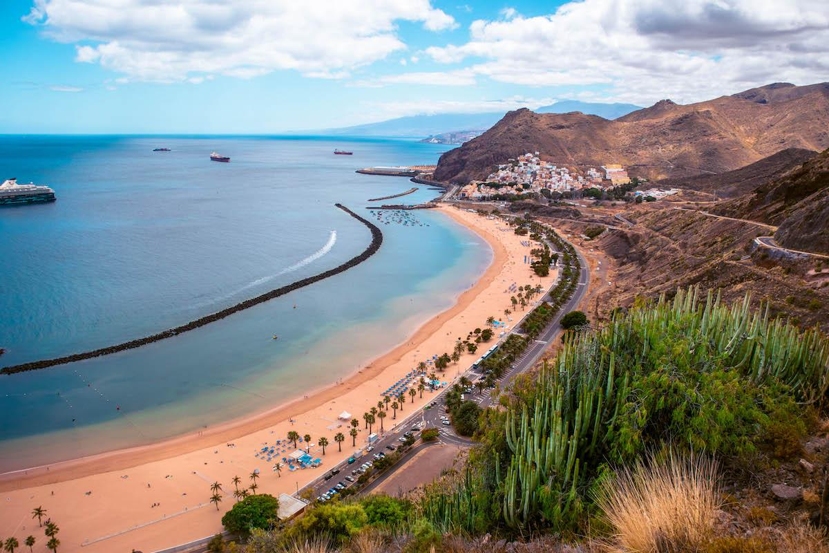Playa de las Teresitas viewpoint mirador