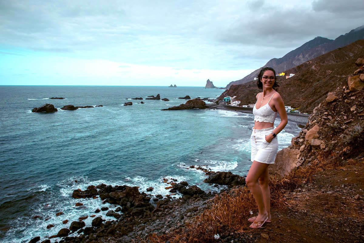 Playa Roque de Las Bodegas Taganana Tenerife