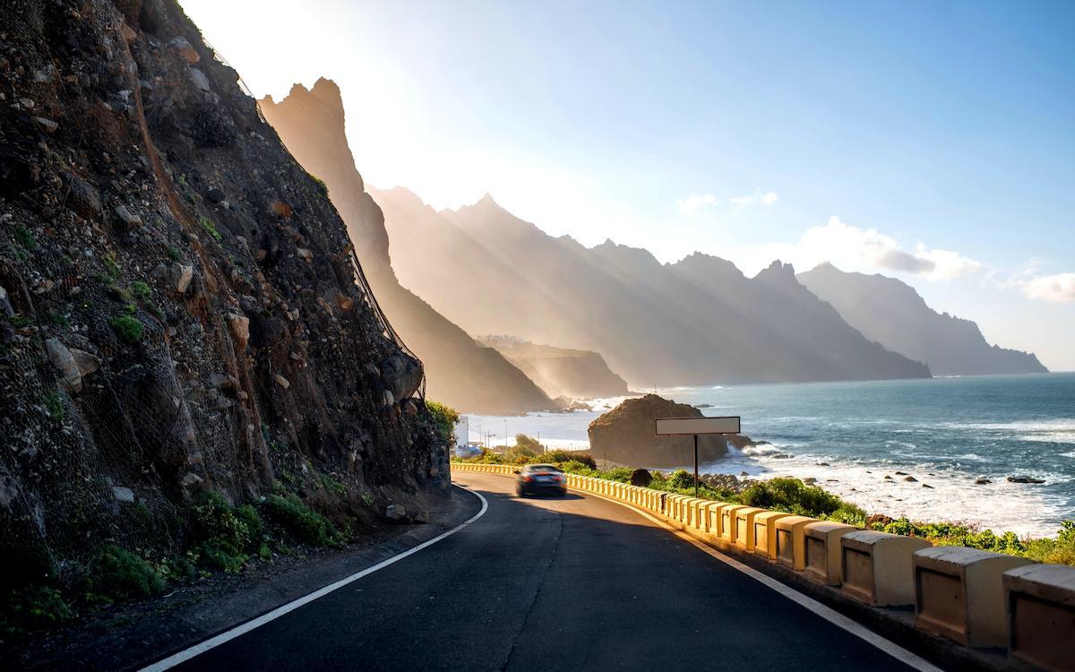 Road in Taganana, Tenerife