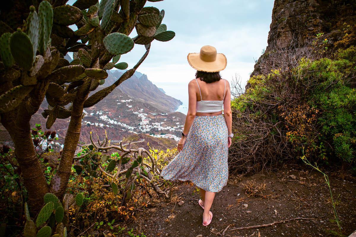 Mirador Risco Amorgoje, Taganana Tenerife