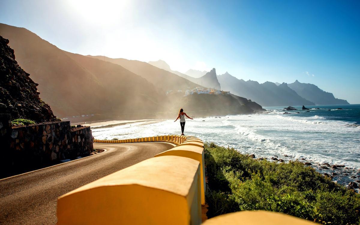 Road to Taganana Tenerife
