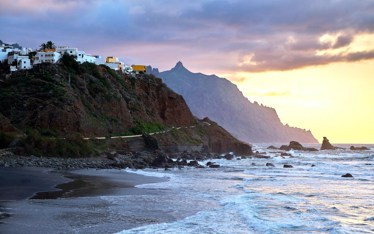 Benijo Beach near Taganana Village in Tenerife